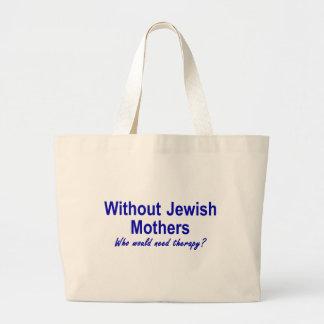 Jewish Mother Large Tote Bag