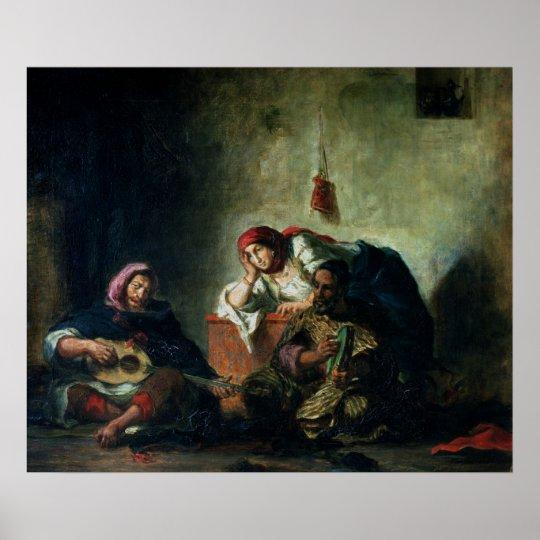 Jewish Musicians in Mogador, 1847 Poster
