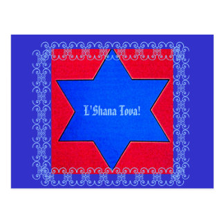 Jewish New Year Post Card
