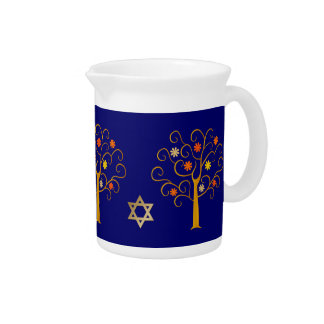 Jewish New Year | Rosh Hashanah Gift Pitcher