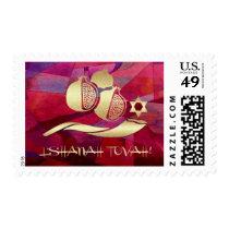 Jewish New Year | Rosh Hashanah Postage Stamps