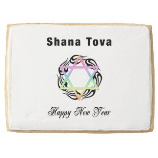 Jewish New Year Star of David Jumbo Cookie