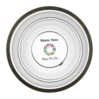 Jewish New Year Pet Bowl