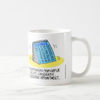 Jewish Overeating Calendar Coffee Mug