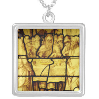 Jewish Passover, from Provins Square Pendant Necklace