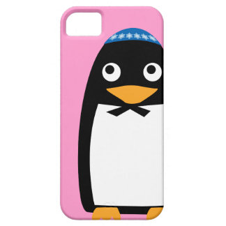 Jewish Penguin Iphone cell case Pink iPhone 5 Covers