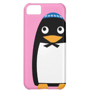 Jewish Penguin Iphone cell case Pink Cover For iPhone 5C