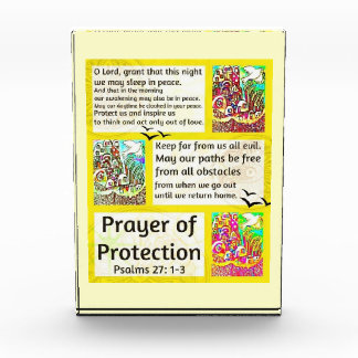 Jewish Prayer Of Peace City Of Jerusalem Acrylic Award
