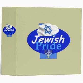 JEWISH PRIDE Avery Binder