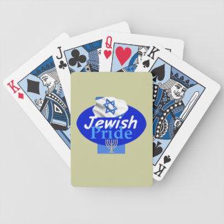 JEWISH PRIDE BICYCLE PLAYING CARDS
