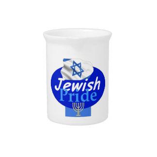 JEWISH PRIDE DRINK PITCHER