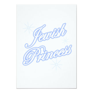Jewish Princess blue Card