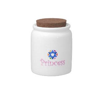 JEWISH PRINCESS CANDY JAR