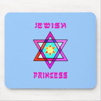 Jewish Princess Mouse Pads