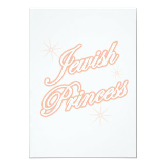 Jewish Princess peach Card