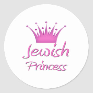 Jewish Princess Sticker