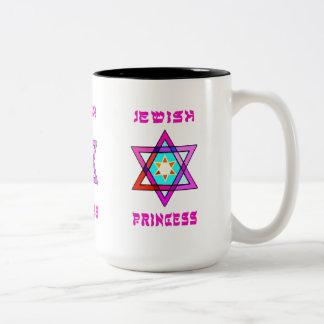 Jewish Princess Two-Tone Coffee Mug