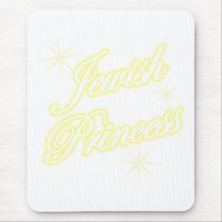 Jewish Princess yellow Mouse Pad