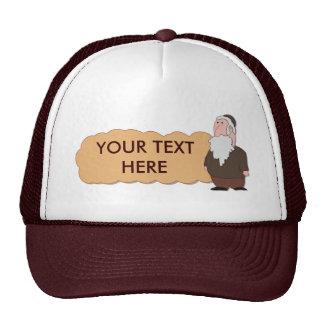 Jewish rabbi custumizable hat