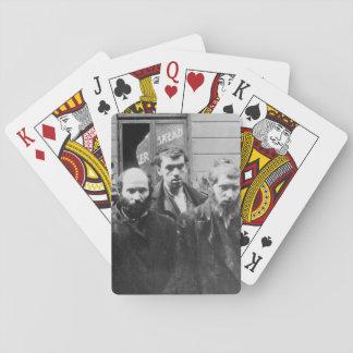 Jewish Rabbis. Copy of German photograph_War Image Playing Cards