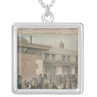 Jewish Refugee Camp Silver Plated Necklace