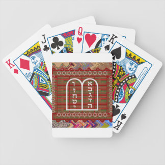 Jewish Religious Spiritual Ritual Art effects gift Bicycle Playing Cards