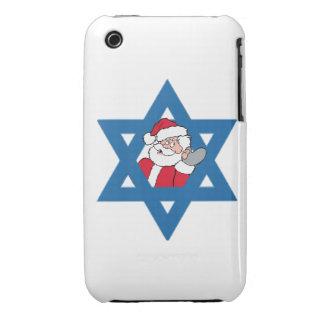 Jewish Santa Case-Mate iPhone 3 Cases