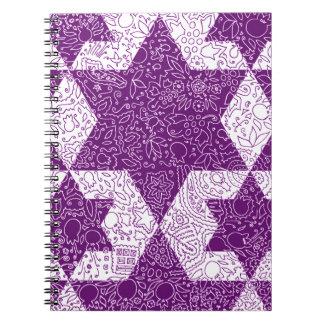 Jewish Signs Style Designed in Jerusalem Notebook