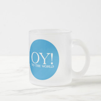 Jewish Sm. Mug - Oy! to the World