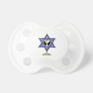 Jewish Star BooginHead Pacifier