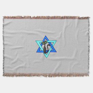 Jewish Star Cats Throw