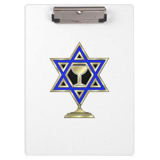 Jewish Star Clipboard