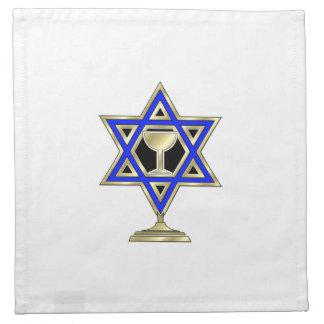 Jewish Star Cloth Napkin