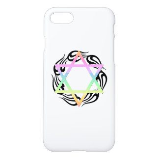 Jewish Star Colors iPhone 7 Case