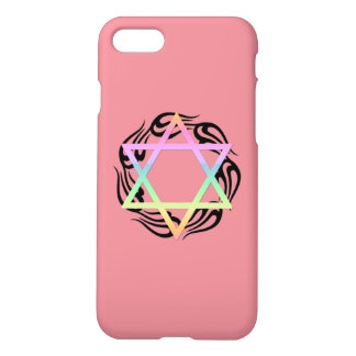 Jewish Star Colors iPhone 8/7 Case