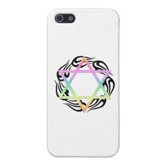 Jewish Star Colors iPhone 5/5S Cases