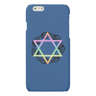 Jewish Star Colors Matte iPhone 6 Case