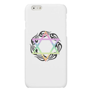 Jewish Star Colors Matte iPhone 6 Case