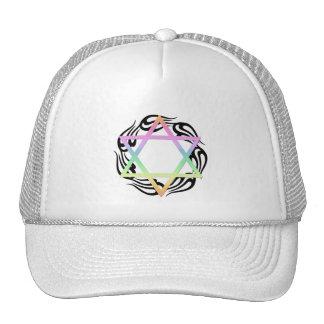 Jewish Star Colors Trucker Hat
