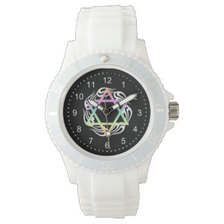 Jewish Star Colors Watch