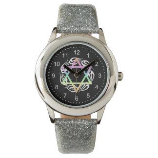 Jewish Star Colors Wrist Watch