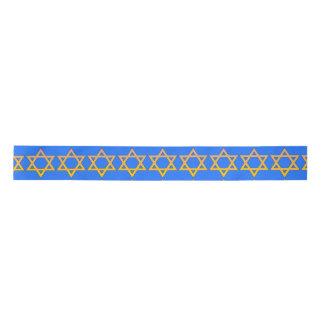 Jewish Star Design Ribbon