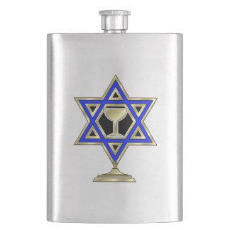 Jewish Star Flasks