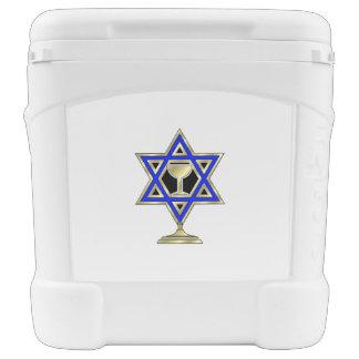 Jewish Star Igloo Rolling Cooler