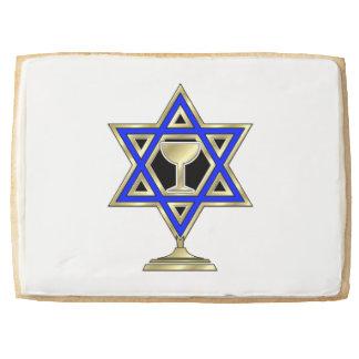 Jewish Star Jumbo Cookie