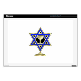 Jewish Star Laptop Decal