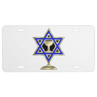 Jewish Star License Plate