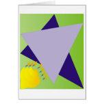 Jewish Star/Menora Card