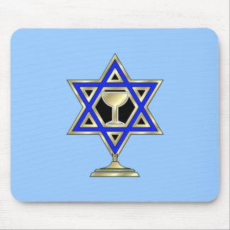 Jewish Star Mouse Pad