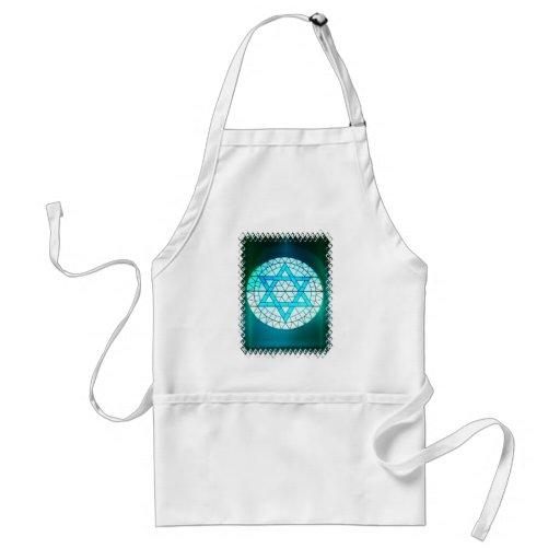 Jewish Star of David Apron